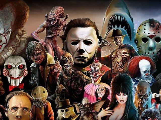 Você conhece todos os vilões dos filmes de terror?