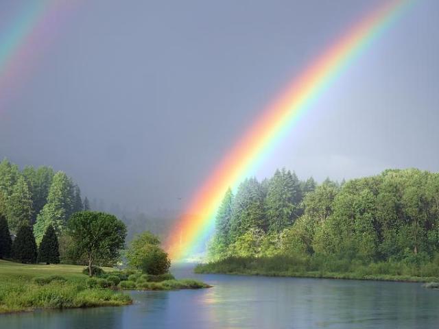Qual cor do arco-íris melhor reflete a sua personalidade?