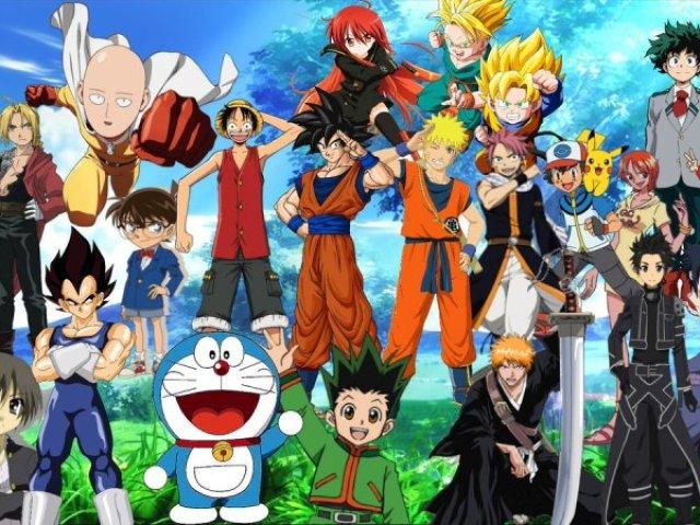 Adivinhe o anime pelo olho!