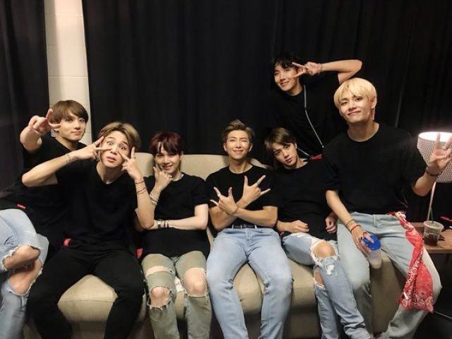 Qual membro do BTS seria o seu melhor amigo?