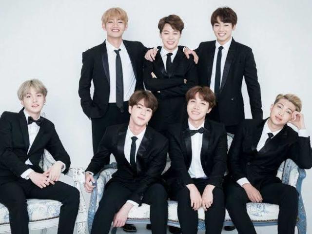 Com qual membro do BTS você irá casar?