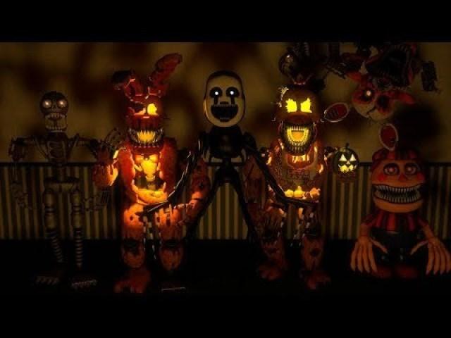 Qual personagem de Fnaf você seria no Halloween?