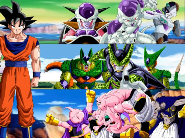 Qual Saga de Dragon Ball Z te Representa?