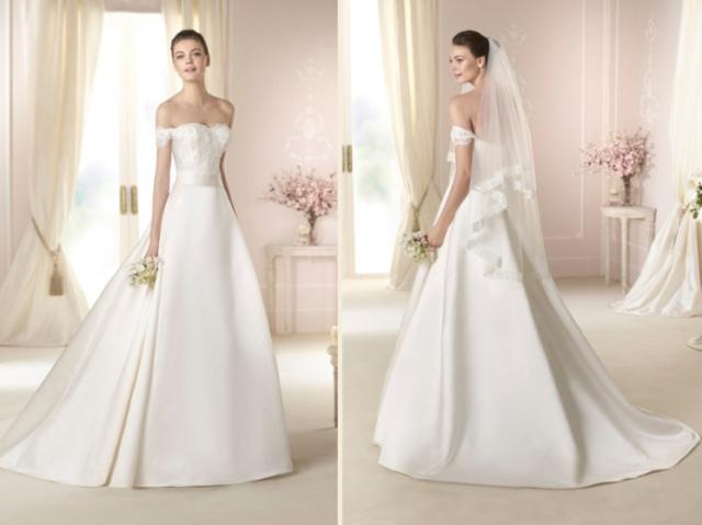 Qual seria seu vestido de noiva?