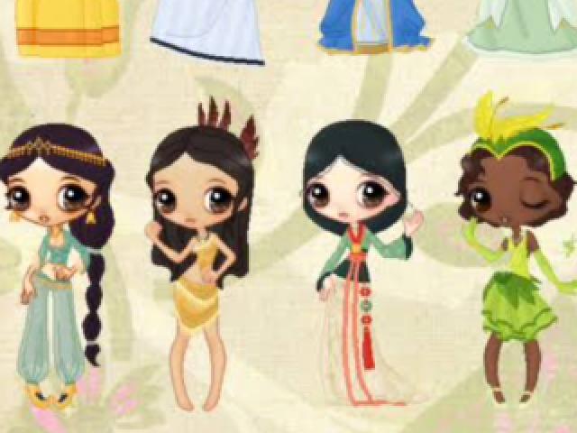 As mais belas princesas da renascença da Disney
