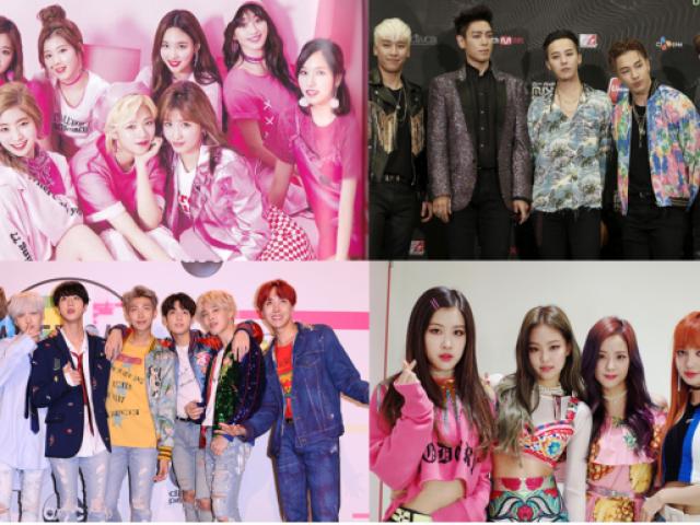 (K-Pop) Qual é o grupo?