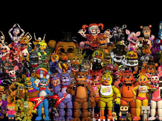 Qual animatronic de FNAF você seria?