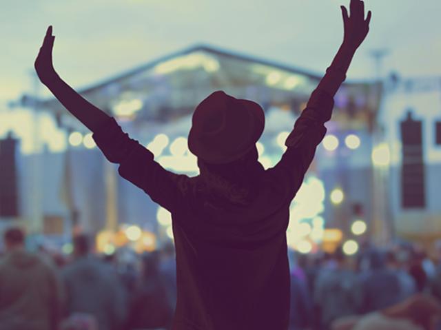 Qual famoso festival foi feito para você?