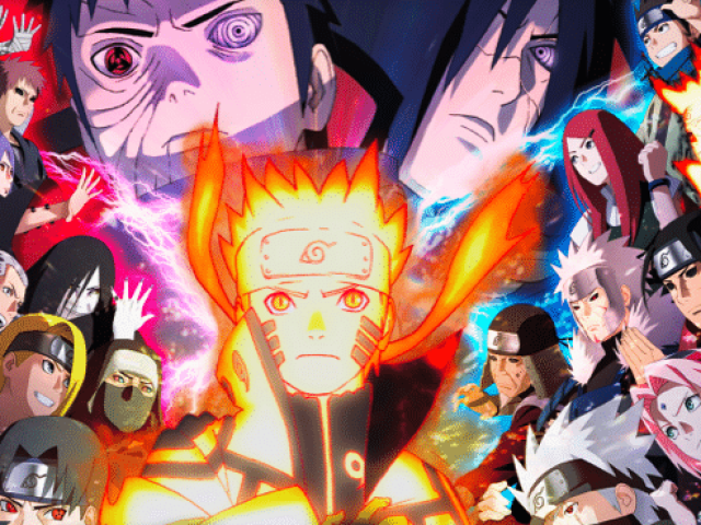 Meus 10 personagens de naruto favorito.