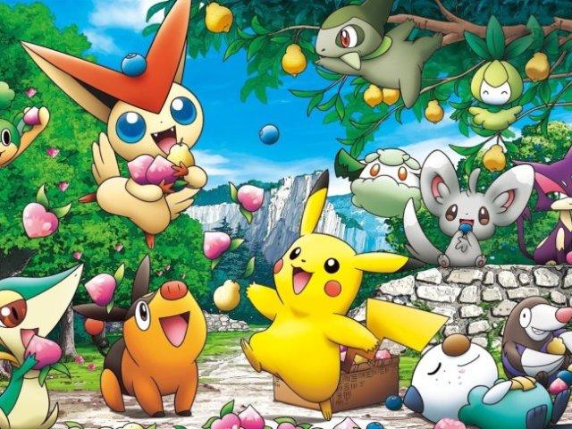 Meus 10 Pokemon favoritos.