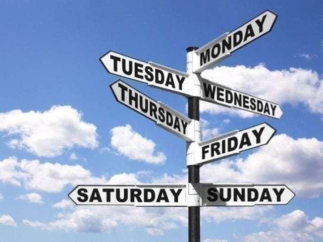 Qual dia da semana você seria?