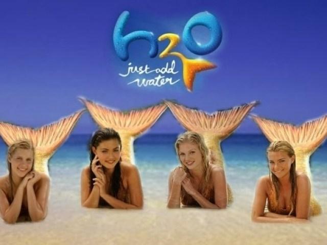 Você conhece a série ''H2O Meninas Sereias''?