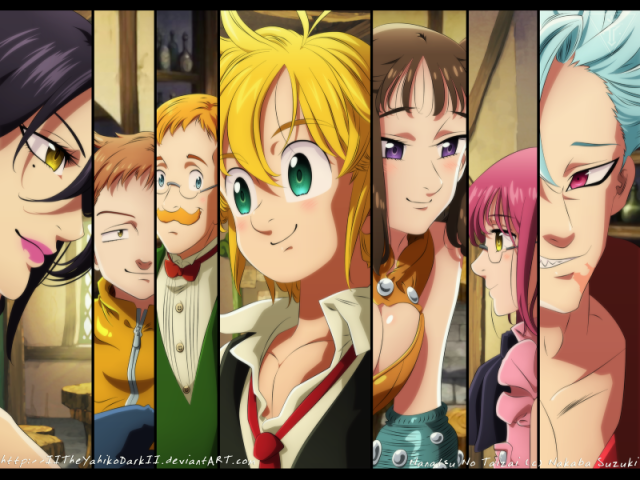 Que personagem do Nanatsu você seria?