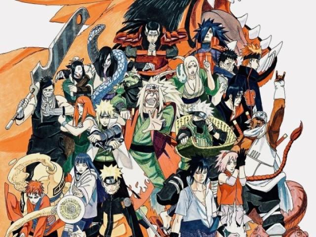 Teste sobre Naruto