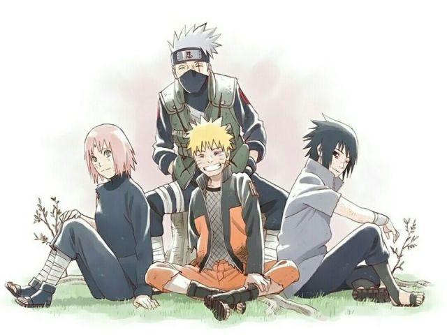 Qual personagem do time 7 de Naruto você seria?