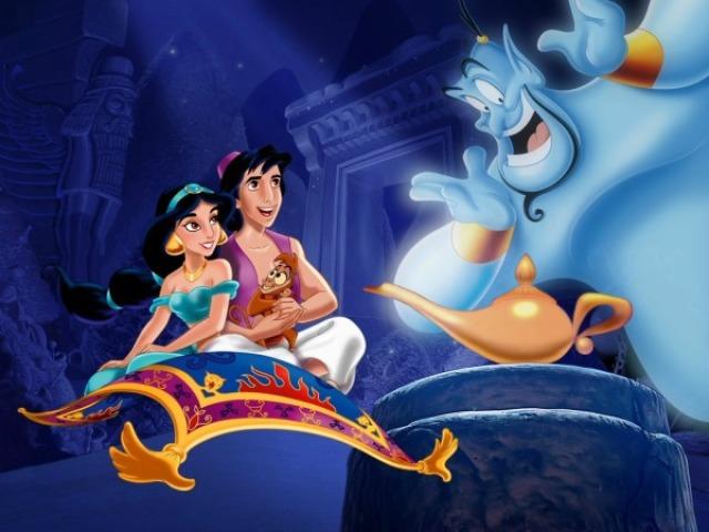 Qual personagem de Aladdin você seria?