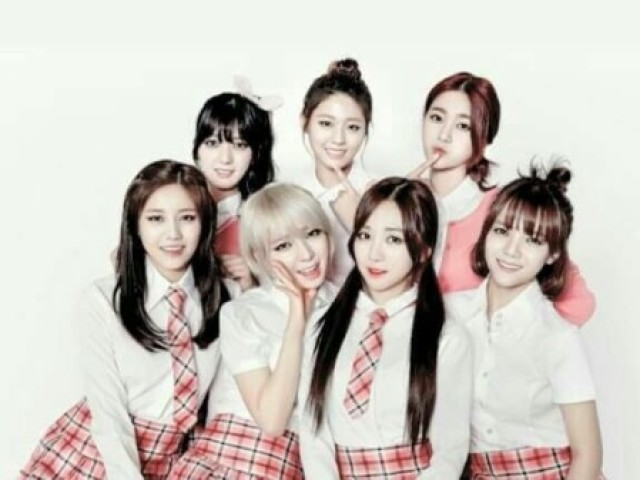 As mais belas do AOA
