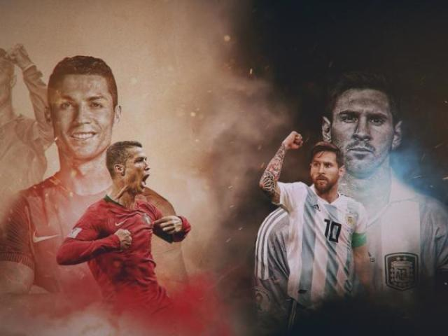 Era Encantada! CR7 ou Messi?