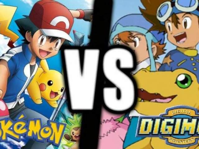 Isso é um Pokémon ou um Digimon?