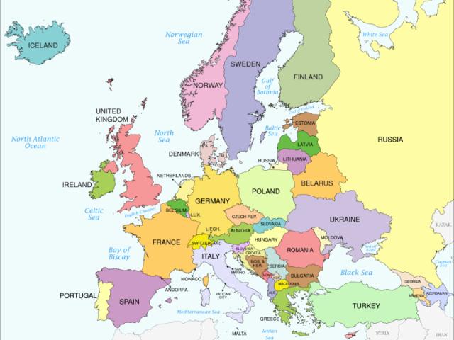 Você sabe os países dos times europeus?