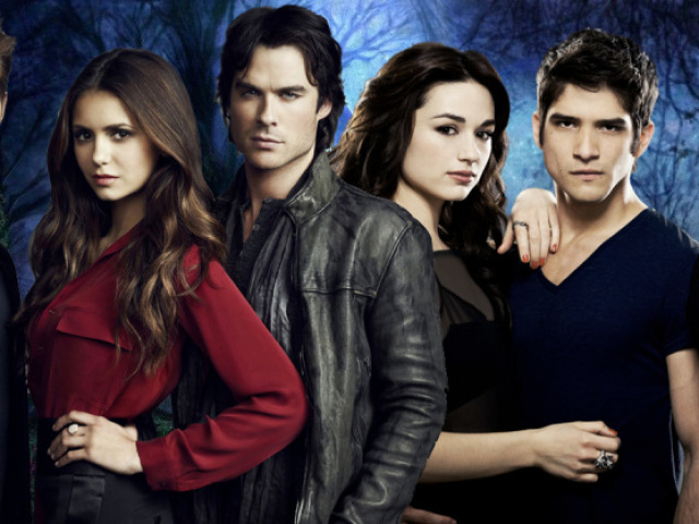 Você é mais The Vampire Diaries ou Teen Wolf?