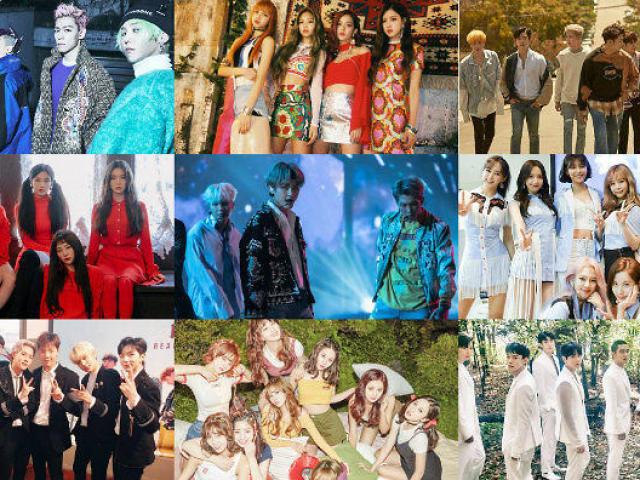 Qual é o grupo de K-pop?