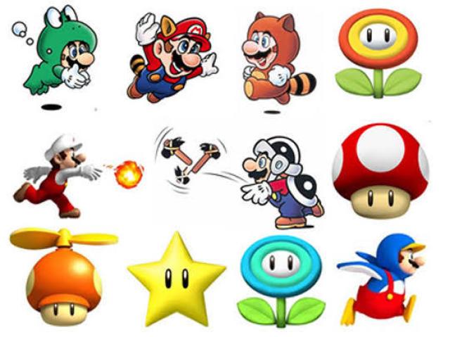 Você conhece os poderes do Super Mario?