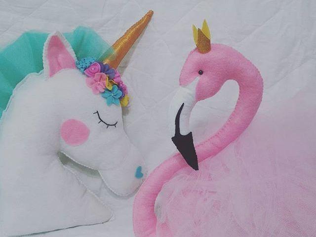 O que combina mais com você unicórnio ou flamingo ?