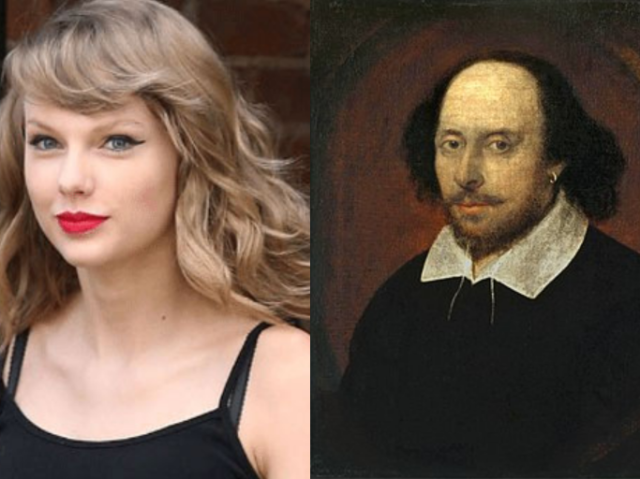 Taylor Swift ou Shakespeare?