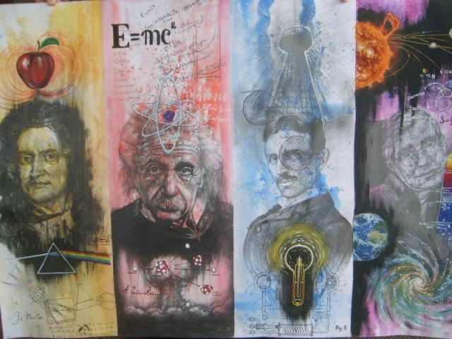 Você conhece algum desses cientistas?