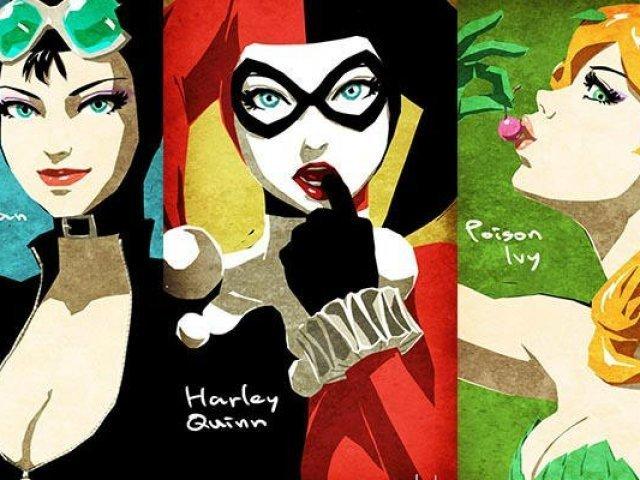 Qual vilã da DC Comics tem a personalidade parecida com a sua?