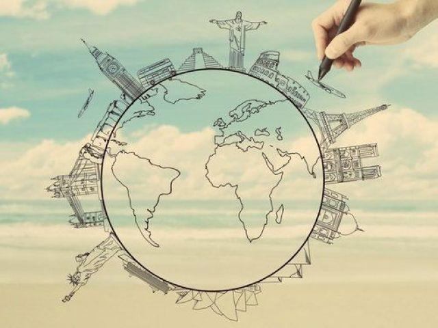 Em qual continente você viveu em sua vida passada?