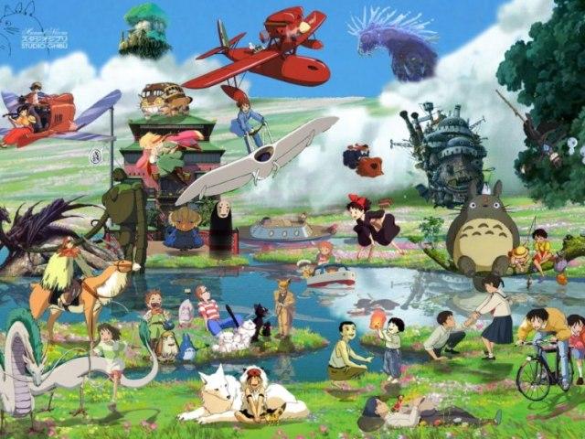 Que filme Ghibli combina contigo?