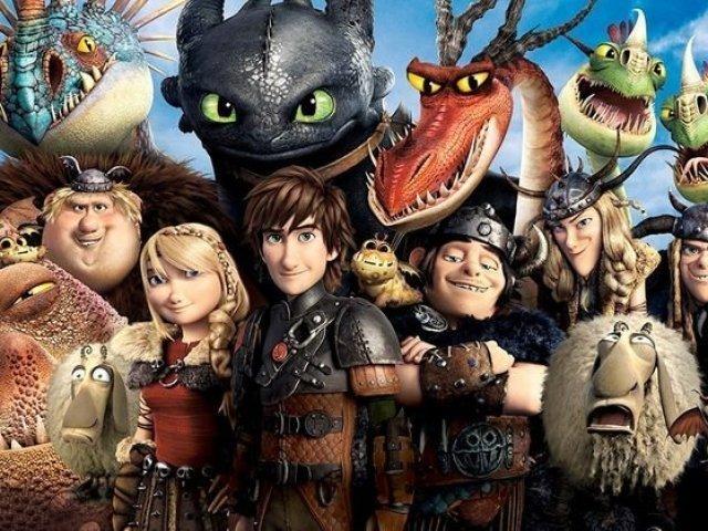 Quanto você sabe sobre dragões (2019)