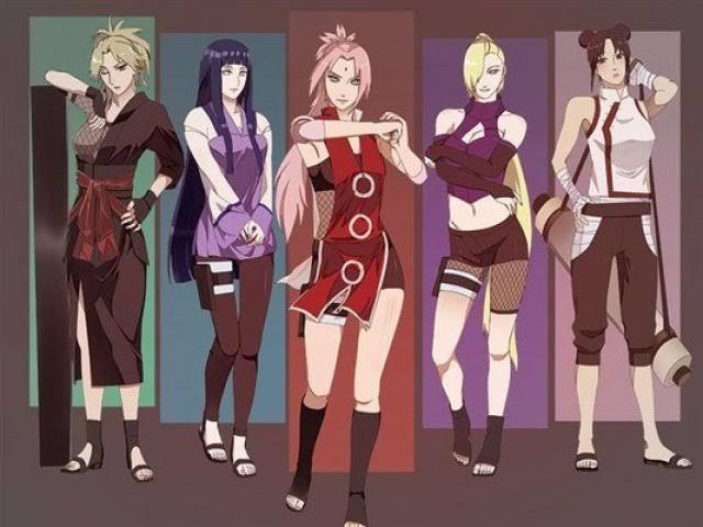 Qual das personagens de Naruto combina mais com sua personalidade?