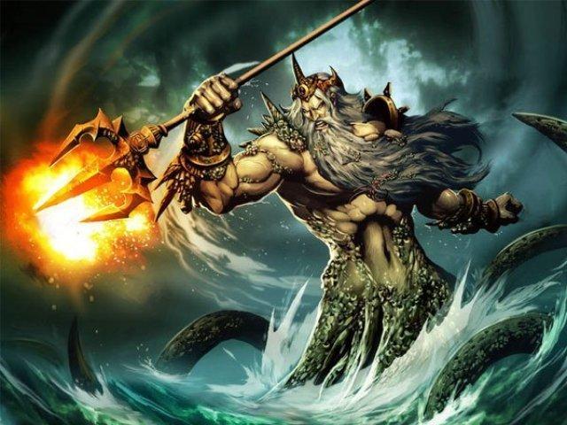 Qual grande deus da mitologia tem a personalidade parecida com a sua?