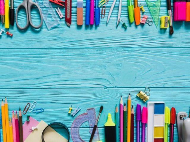 Qual seria seu material escolar em 2019?