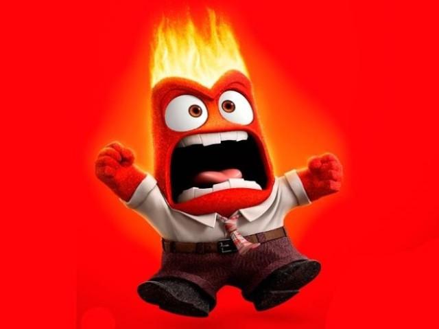 Qual cor te representa na hora da raiva?