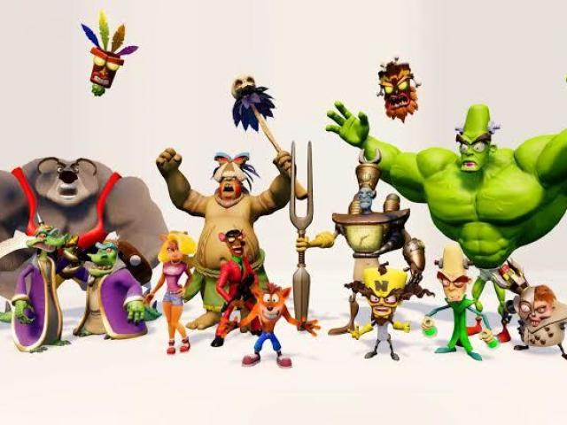 Qual personagem de Crash Bandicoot você seria?