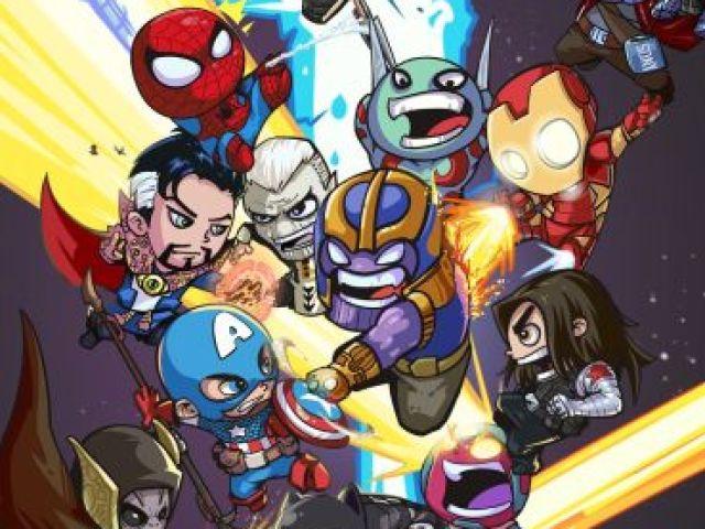 Qual heroi da Marvel você seria?