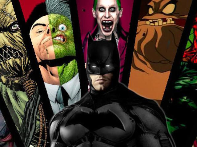 Você saberia me dizer quais foram as primeiras aparições dos vilões do Batman?
