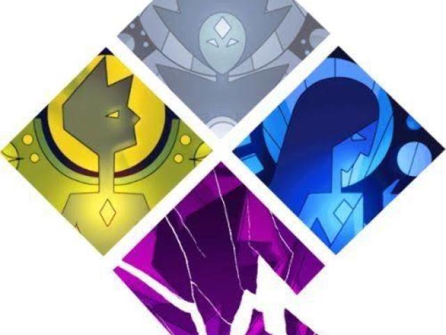 De qual corte diamante você seria em Steven Universe?