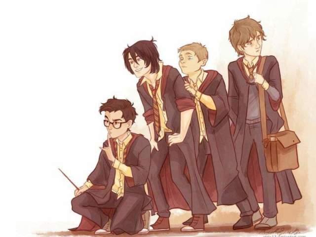 Harry Potter: Qual dos marotos você seria?