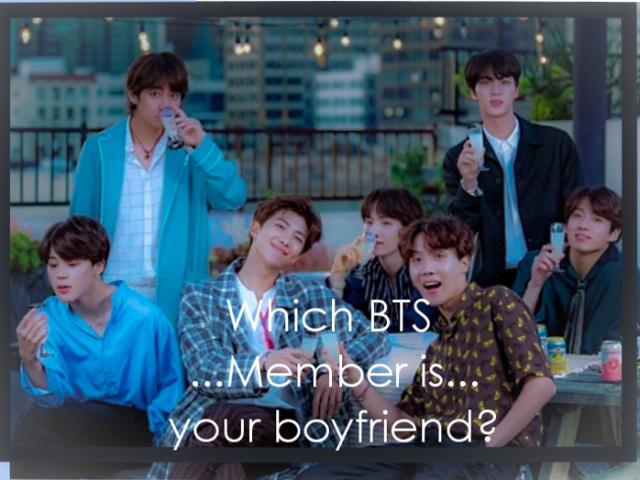 """""""-Qual Membro do BTS seria seu namorado?-"""""""