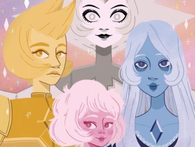 Qual Diamante Você seria em Steven Universe? 💖💎💗💋👑💫