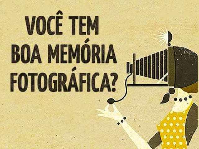 Você tem uma boa memória fotográfica?