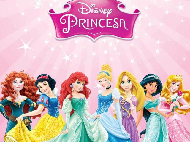 Descudra os nomes das princesa da Disney ❤