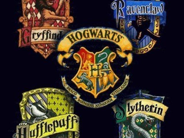 De qual casa você seria em Harry Potter?