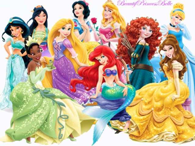 Top 7 das Princesas mais lindas da Disney.
