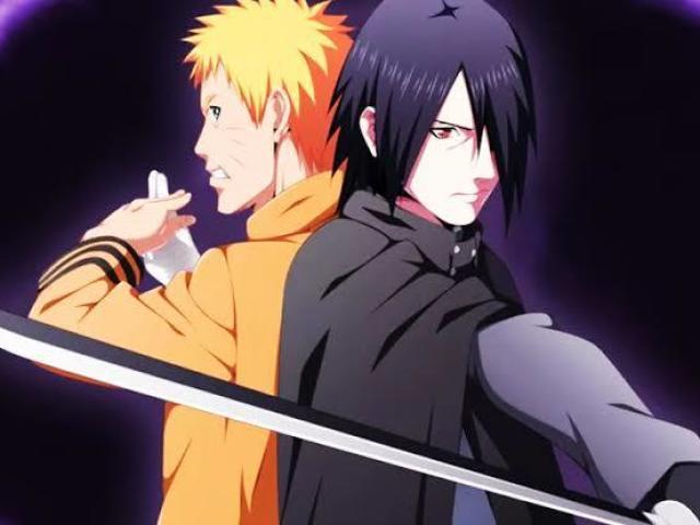Você parece mais com Naruto ou Sasuke?
